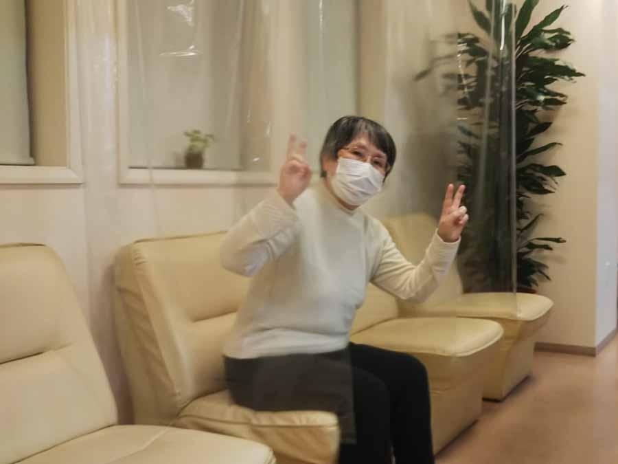 飛沫感染防止カーテン